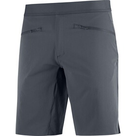 Salomon Wayfarer Pull On Shorts Heren, grijs